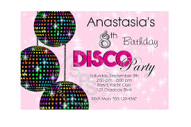 disco party invitations printable com kids disco party invitations printable