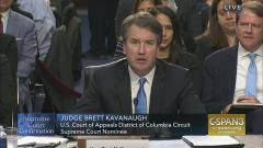Supreme Court Nominee Brett Kavanaugh Confirmation Hearing ...