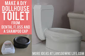 make a diy dollhouse toilet barbie doll furniture diy