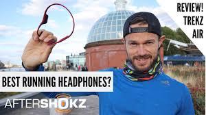 Running Headphones 2018 - <b>Aftershokz Trekz Air</b> - Full Review ...