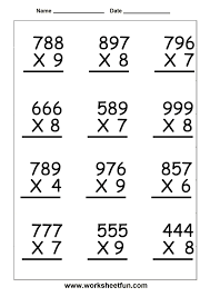 Worksheet. Grade 4 Math Worksheets Multiplication. Vietsoh Free ...Free printable multiplication worksheets grade 4 sheets fun wrkvhn3g free