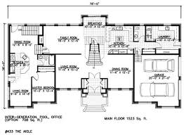 Unique Home Plans With Inlaw Suites   Mother In Law House Plans    Unique Home Plans With Inlaw Suites   Mother In Law House Plans With Apartment