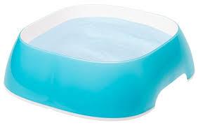 Купить <b>Миска</b> Ferplast GLAM LARGE <b>1.2 л</b> голубой по низкой цене ...
