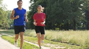 [Isabel Rangel Baron]: Jogging with company