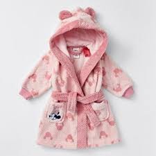 <b>Disney Baby Minnie Mouse</b> Dressing Gown - Pink | Target Australia
