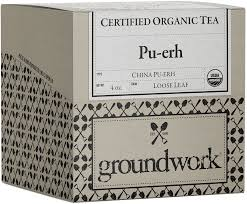 <b>Pu</b>-<b>erh</b> Certified <b>Organic Tea</b> - Groundwork Coffee Co.