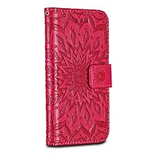 Huawei P20 Case Cover, Casake [Ripple] [<b>High Quality Pu</b> Leather]