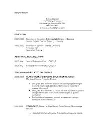 teachers resume templates job resume samples teachers resume templates