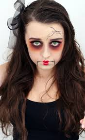 makeup ideas creepy doll i want to do this dayana sterpin aguilar ledesma i know you would like this creepy
