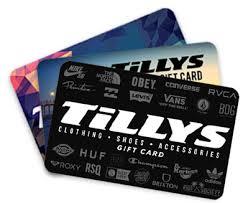 Tillys Gift Cards