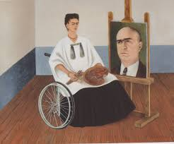 epph kahlo s the wounded deer  kahlo s self portrait portrait of dr farill 1951