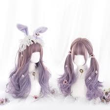 <b>MANWEI</b> Wig Long Color mixing <b>Lolita Wigs</b> Woman Hair Wavy ...