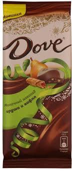 <b>Шоколад DOVE Молочный</b> груша вафля – купить в сети ...