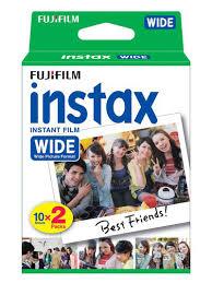 Фотопленка <b>FUJIFILM</b> Colorfilm <b>Instax WIDE</b> Glossy кассета 20 ...