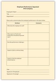 appraisal methods checklist scale