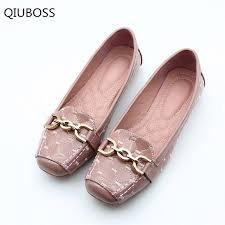 Boat Shoes <b>QIUBOSS</b> 2018 Spring <b>New</b> Fashion <b>Women</b> Flat Shoes ...