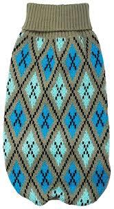 Купить <b>свитер для собак Уют</b> размер M унисекс, серый, голубой ...