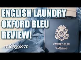 <b>Oxford Bleu</b> by <b>English Laundry</b> Fragrance / Cologne Review ...