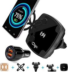 2020 CEGAR <b>QI</b> Fast 10W <b>Wireless</b> Car <b>Charger Magnetic Suction</b> ...