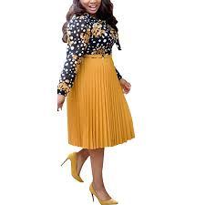 HD Stylish African Dresses for Women Patchwork Midi ... - Amazon.com