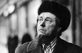 "Solzhenitsyn:  ""A work of art..."""