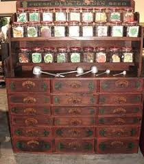 general store seed cabinet antique furniture apothecary general store candy