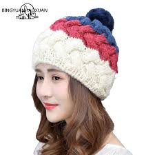 <b>BINGYUANHAOXUAN</b> Moda Winter <b>Woman</b> Floppy <b>Hat Female</b> ...