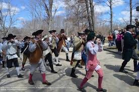 photo essay the sudbury militia fife and drum corps ing during the patriot s day ceremonies