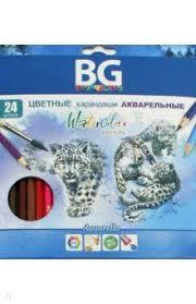 """""""<b>Карандаши цветные</b> акварельные """"Aquarella"""" (24 цвета ..."""