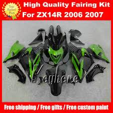 Free 7 Gifts Fairing Kit For Kawasaki Ninja ZX14R 06 07 08 09 ZX ...