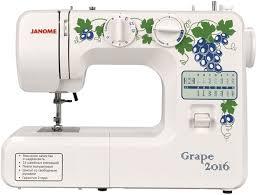 <b>Швейная машинка JANOME Grape</b> 2016 (белый)