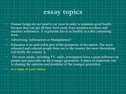 argumentative essay   essay topics