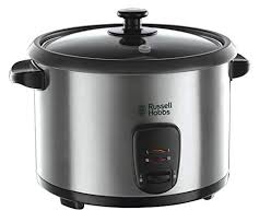 <b>Russell Hobbs</b> 19750 Rice Cooker and Steamer, 1.8 Litre, Silver ...