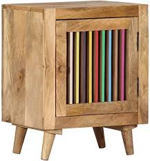 Tables Bedside Tables <b>Bedside Cabinet 40x30x50</b> cm Solid ...
