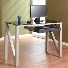 expensive office furniture. glass computer desk small with slide out keyboard shelf designed z intended for expensive office furniture