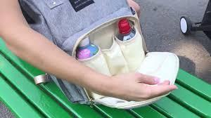 Рюкзак для <b>мамы</b>, <b>сумка</b> на коляску - YouTube