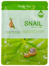 <b>Farmstay Тканевая маска</b> Visible Difference Mask Sheet Snail с ...