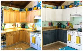 Small Picture Painting Kitchen Cabinets Ideas Before And After Modern Cabinets