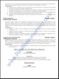 financial services operation professional resume sample real ask our professional writers to customize a resume for you