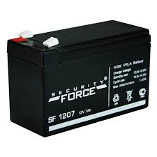 Аккумуляторная батарея <b>Security Force</b> SF 1207 — купить в ...