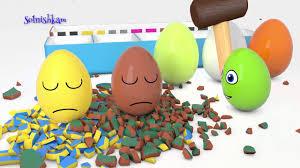 Яйца с сюрпризом и молоток Учим цвета Surprise eggs 2 ...