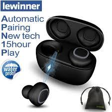 <b>Lewinner V09 Bluetooth Earphones</b> Wireless Earphone TWS ...