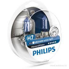 <b>Лампа</b> 12V H7 55W <b>PHILIPS Diamond</b> Vision 2 шт. DUOBOX ...