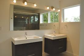 unfinished bathroom vanities and grey bathroom vanity lighting ideas combined