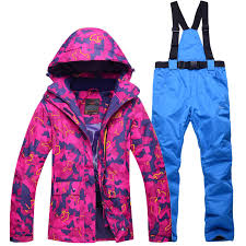 NEW Skiing suits Jackets <b>women</b> men <b>Snowboarding Sets winter</b> ...