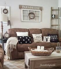 rustic style living room clever: brown couch rustic home rustic living room farmhouse