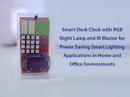 Smart <b>Desk</b> Clock - To Save Power Using IoT at Home & Office ...
