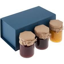 <b>Набор Jam Jar</b>, синий под нанесение логотипа, цена 1356.00 руб ...