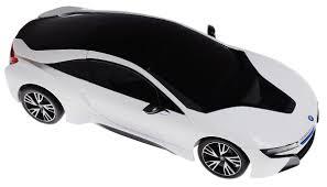 Rastar Радиоуправляемая <b>модель</b> BMW i8 цвет белый черный ...