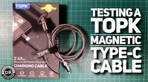 Viewer submission : <b>TOPK Magnetic</b> Type-C cable from ignoremychan